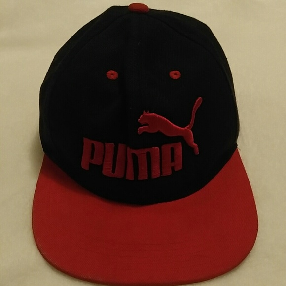hot sale online 90bc9 ac120 ... reduced black and red puma hat a8f57 69c31